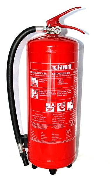 Πυροσβεστήρας ξηράς σκόνης 6kg