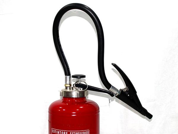 Πυροσβεστήρας ξηράς σκόνης με φιαλίδιο,δικλείδα 6kg