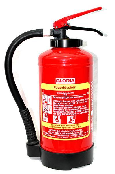 Πυροσβεστήρας Αφρού GLORIA  AFF 3lt